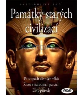 PAMÁTKY STARÝCH CIVILIZACÍ /4 DVD/