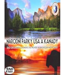 NÁRODNÍ PARKY USA A KANADY /2 DVD/