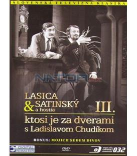 Lasica & Satinský a hostia III.: Ktosi je za dverami s Ladislavom Chudíkom DVD