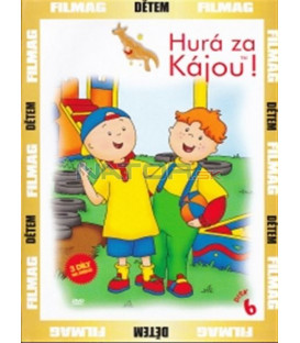 Hurá za Kájou! - disk 6 (Caillou) DVD