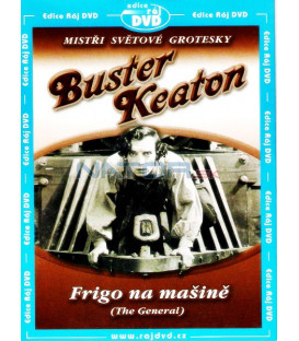 Frigo na mašině 1926 (The General) DVD