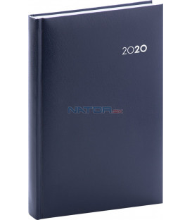Denný diár Balacron 2020, tmavomodrý, 15 x 21 cm