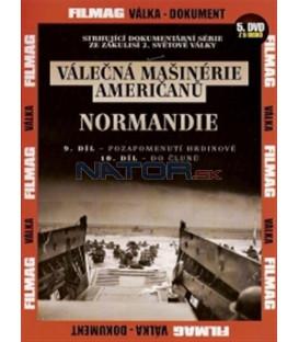Válečná mašinérie Američanů 5 - Normandie DVD (The War Machines of WWII - The Americans)