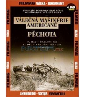 Válečná mašinérie Američanů 4 - Pěchota DVD (The War Machines of WWII - The Americans)