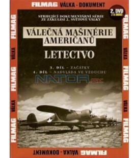 Válečná mašinérie Američanů 2 - Letectvo DVD (The War Machines of WWII - The Americans)