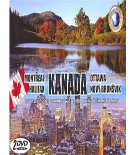 KANADA -MONTREAL,HALIFAX+OTTAWA,Nový Brunšvik/2 DVD/