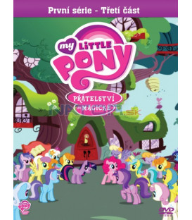 My Little Pony: Přátelství je magické – 1. série, 3. část DVD (SK OBAL)