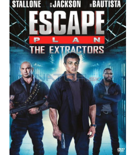 Plán útěku 3 - 2019 (Escape Plan: The Extractor) DVD Sylvester Stallone