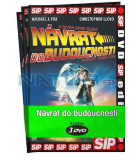 Návrat do budoucnosti I.-III. 3 X DVD (Back to the Future) DVD Trilogie
