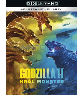 Godzilla II Král monster 2019 (Godzilla: King of the Monsters) (4K Ultra HD) - UHD Blu-ray + Blu-ray