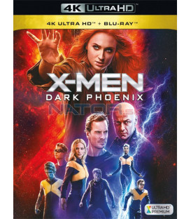 X-Men: Dark Phoenix 2019 (4K Ultra HD) - UHD Blu-ray + Blu-ray
