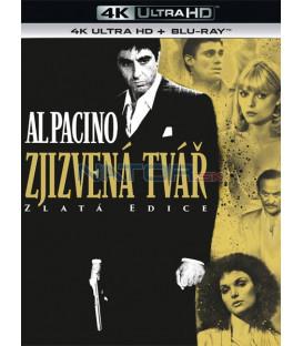 Zjizvená tvář 1983 (Scarface) (4K Ultra HD) - UHD Blu-ray + Blu-ray