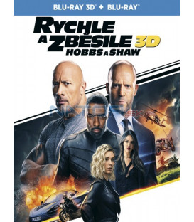 Rychle a zběsile: Hobbs a Shaw 2019 (Fast & Furious Presents: Hobbs & Shaw) 3D+2D Blu-ray