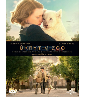 ÚKRYT V ZOO (The Zookeepers Wife) DVD
