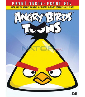 Angry Birds 1 DVD Big Face