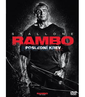 Rambo V: Posledná krv 2019 (RAMBO V: Last Blood) DVD  Sylvester Stallone (SK OBAL)