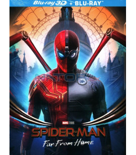 SPIDER-MAN: Daleko od domova 2019 (SPIDER-MAN: Far From Home) 3D + 2D Blu-ray