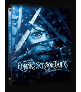 Střihoruký Edward (Edward Scissorhands Edice 25. výročí )  Blu-ray Steelbook