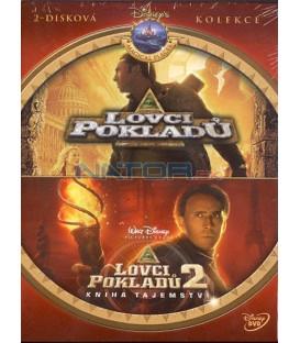 Kolekce: Lovci pokladů 1, 2 2 DVD
