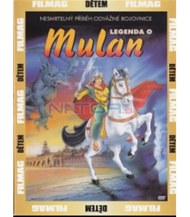 Legenda o Mulan (Mu-lan) DVD