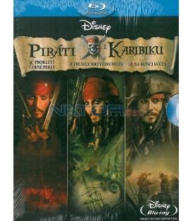 Piráti z Karibiku triplepack Blu-ray