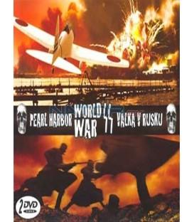 WORLD WAR 2 -Pearl Harbor,Valka v Rusku/2 DVD/