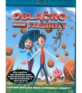 Zataženo, občas trakaře/Oblačno, miestami fašírky - Blu Ray (Cloudy with a Chance of Meatballs)