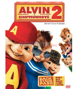Alvin a Chipmunkové 2 (Alvin and the Chipmunks: The Squeakquel) DVD