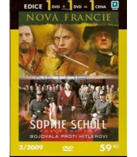Edice 1 + 1: Nová Francie + Sophie Scholl(Nouvelle-France + Sophie Scholl - Die letzten Tage)