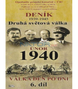 Deník - Druhá světová válka (6. díl) - únor 1940 (Second World War Diary (1939-1945) DVD