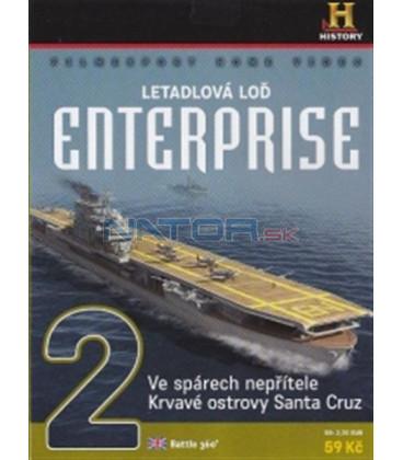 Letadlová loď Enterprise 2 (Battle 360) DVD