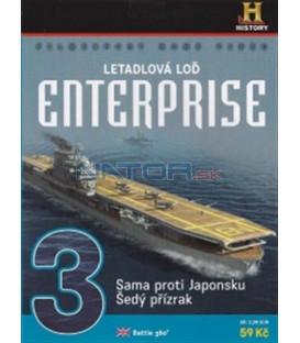 Letadlová loď Enterprise 3 (Battle 360) DVD