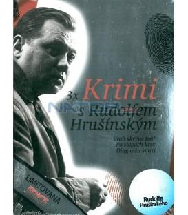 Krimi s Rudolfem Hrušínským 3 DVD