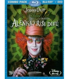 Alenka v říši divů /Alica v krajine zázrakov/ Blu-ray + DVD(Alice in Wonderland)