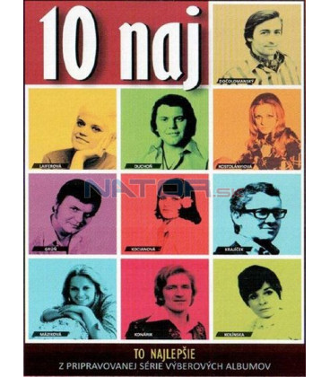 10 naj - Jedinečná kolekcia piesní slovenských legiend CD