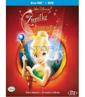 Zvonilka a ztracený poklad Blu-ray + DVD - CZ verze