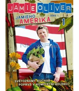 Jamie Oliver - série 1. - Jamieho Amerika - disk 1 (Jamies American Road Trip) DVD