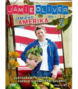 Jamie Oliver - série 1. - Jamieho Amerika - disk 2 (Jamies American Road Trip) DVD