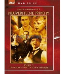 Neuvěřitelné příběhy - disk 3 (Amazing Stories) DVD