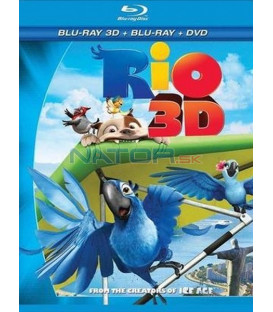 Rio - Blu-ray 3D SK/CZ dabing