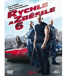 Rychle a zběsile 6 - 2013 (The Fast and the Furious 6) DVD