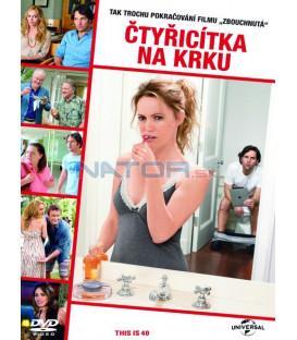 ČTYŘICÍTKA NA KRKU (This Is 40) DVD