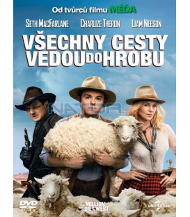 VŠECHNY CESTY VEDOU DO HROBU (A Million Ways to Die in the West) DVD