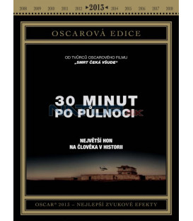 30 minut po půlnoci (Zero Dark Thirty) DVD Oscarová edice