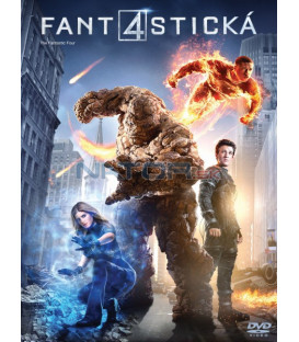 FANTASTICKÁ ČTYŘKA (The Fantastic Four) 2015 DVD
