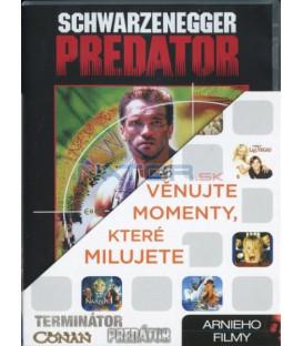 Arnieho filmy (Predátor, Terminátor, Barbar Conan) - 3xDVD
