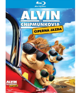 Alvin a Chipmunkové: Čiperná jízda (Alvin and the Chipmunks: The Road Chip) Blu-ray