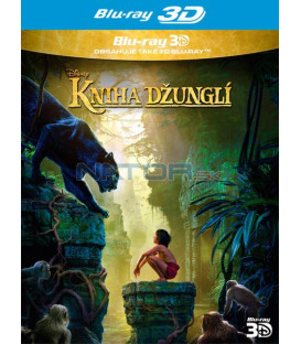 KNIHA DŽUNGLÍ (The Jungle Book) 2016 Blu-ray 3D + 2D