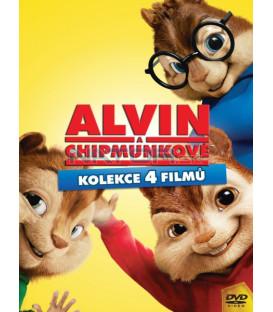Alvin a Chipmunkové kolekce 1-4 DVD