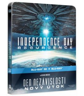Den nezávislosti: Nový útok (Independence Day - Resurgence) 2016 3D + 2D Blu-ray STEELBOOK